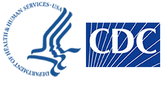 HHS logo for CDC