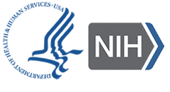 HHS logo for NIH
